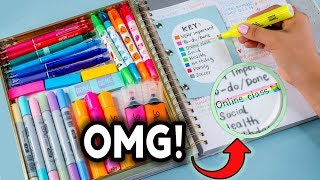 Download DIY STUDY HACKS! How To Be PRODUCTIVE After School + Study Tips to Get BETTER GRADES! Video