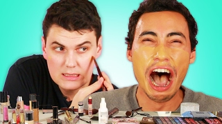 "Download Men Try The ″No Makeup"" Look Video"