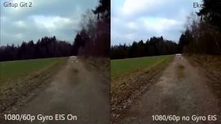Download Gitup Git2 vs. Eken H9 (IMX206 Novatek 96660 vs. OV4689 Sunplus 6350) - Banggood Video