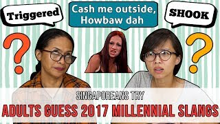 Download Singaporeans (Adults) Try: Guessing 2017 Millennial Slangs Video