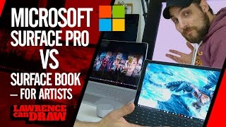 Download Microsoft Surface Pro 4 Vs Surface Book for artists Video