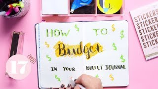 Download How To Budget in Your Bullet Journal | Plan With Me Video