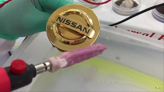 Download How to: Gold Plating on Chrome Items - Plastic Car Emblem - Kit Demo (NEW) Video