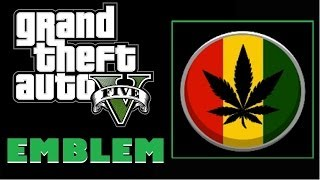 Download Grand Theft Auto 5 / GTA5 : Cannabis Leaf Emblem Tutorial Video