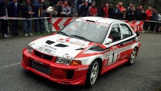 Download WRC Mitsubishi EVO RalliArt on Tarmac (Pure Engine Sound) HD Video