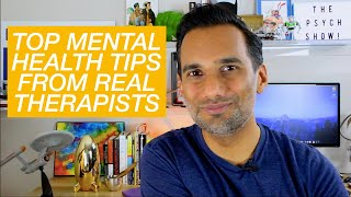 Download Mental health tips from 75 therapists Video
