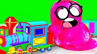 Download Slick Slime Sam Makes MAGIC MAGNET TRAIN Video