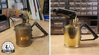 Download Vintage Paraffin Blow Torch Restoration Video