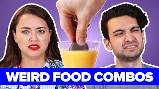 Download People Try Weird Food Combinations That Actually Work Video