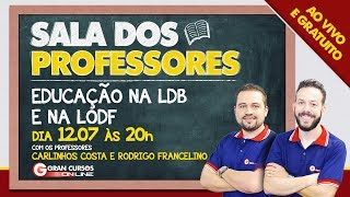 Download Sala dos Professores Educação na LDB e na LODF Video