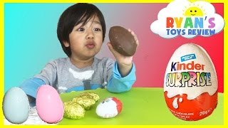 Download Kinder Surprise Eggs Toys Opening Disney Cars Toys Kids Video Ryan ToysReview Video