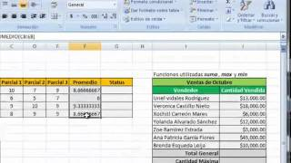 Download Funciones o formulas en Excel Video