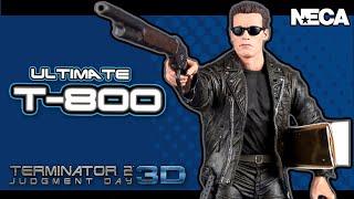 Download Toy Spot   NECA Terminator 2 3D Ultimate T-800 Figure Video