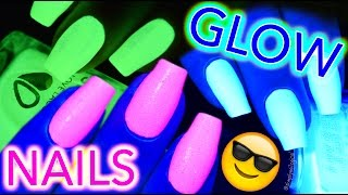 Download GET GLOW NAILS! Glow-in-the-dark and black light PARTY TIME Video