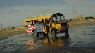 Download Nitro Circus - Bus Drifting Video