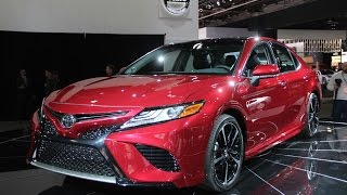 Download 2018 Toyota Camry First Look: 2017 Detroit Auto Show Video
