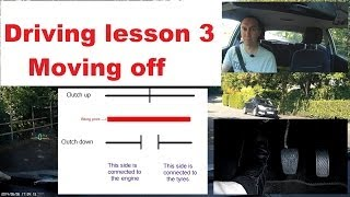 Download How to move off in a car with a clutch Video