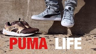 Download Puma Life! Footwear & Apparel - Trinomic Disc & Basket Low ″TREE CAMO″ ON FEET & STYLED Video