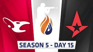 Download ECS Season 5 Day 15 - Virtus.pro vs Gambit, Mouz vs Astralis // Cloud9 vs eUnited, Optic vs Rogue Video