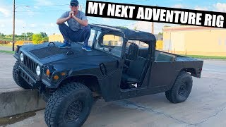 Download I buy a military Humvee M998 for an adventure rig. Land Cruiser replacement. Video