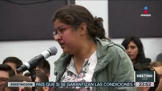 Download Así le fue al ″Bronco″ en la Ibero #Destino2018 | Noticias con Ciro Gómez Leyva Video