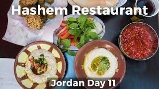Download Legendary Jordanian Street Food at Hashem Restaurant - Amman, Jordan! Video