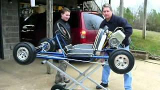 Download Vintage 1961 Dart ″Road Runner″ Go Kart With West Bend 820 Restoration Phase 3 Video