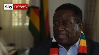 Download Zimbabwe's Emmerson Mnangagwa says he wants to be the 'people's leader' Video