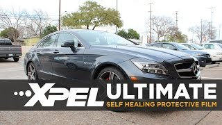 Download 2013 Mercedes Benz CLS63 AMG gets XPEL ULTIMATE Paint Protection Clear Bra on XPEL TV Video