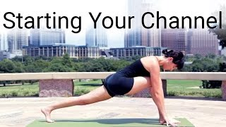 Download Tips For Getting Your Channel Started (ft. Yoga with Adriene) Video
