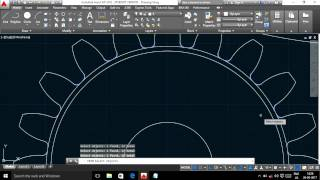 Download AUTO CAD TUTORIAL -1. how to create a gear quickly Video