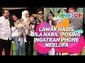 Download Lawak habis bila Nabil 'posing' ingatkan phone Neelofa I Calon Top 5 AME 2018 Video