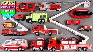 Download 🔴 New Fire Vehicles For Kids Children Babies Toddlers | Fire Truck Song For Kids Children Toddlers Video