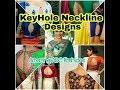 Download Key Hole Neckline Designs, Creative wedding Blouses Video