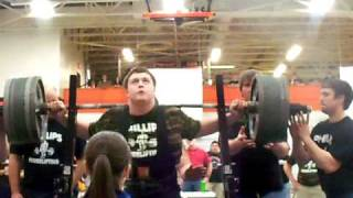 Download 14 year old freshman squats 610 Video