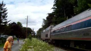 Download PG13!: Duo Of Teenagers Force Amtrak 55 Into Emergincy, At Amherst, MA Video