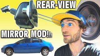 Download WALLED SUBS + Rear-View Mirror? Installing Dash & Backup Camera LCD Screen | How To Install N3 Cam Video