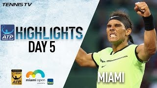 Download Nadal Nishikori Sock Win In Miami 2017 Sunday Highlights Video