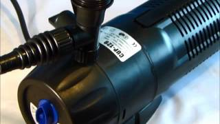 Download All in One Pond Pump Filter With 9w UV Steriliser (CUP-359) - All Pond Solutions Video