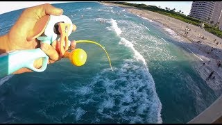 Download Micro Fishing Pole against Juno Pier Snook! Video
