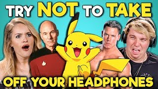 Download COLLEGE KIDS REACT TO TRY NOT TO TAKE OFF YOUR HEADPHONES CHALLENGE Video