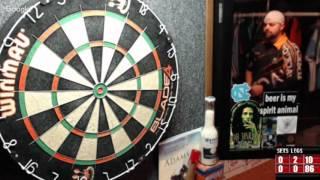 Download Rattlesnake vs Ezgame -WDA Darts Video
