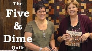 Download Make the Five & Dime Quilt with Kansas Troubles! Video