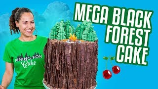 Download BLACK FOREST Mega Cake!! | How To Cake It Video