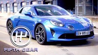 Download Alpine A110 Team Test | Fifth Gear Video