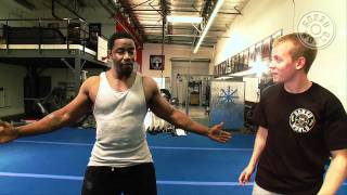 Download Martial Arts expert Michael Jai White's training video with Gonzo FIT Video