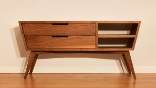 Download Designing and Building A Modern Credenza - Woodworking Video