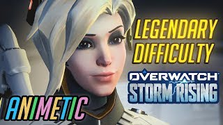 Download Legendary difficulty: Storm Rising PvE event as Mercy - Overwatch Video