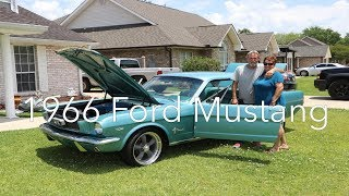 Download Surprising our dad with his dream car! 1966 Ford Mustang Video