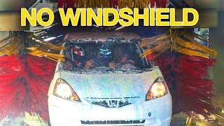 Download Carwash With No Windshield! Video
